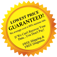 Advanced-Data Recovery Services - Lowest Price Guaranteed
